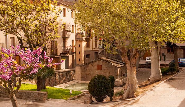 Plaça de la Font - Torà